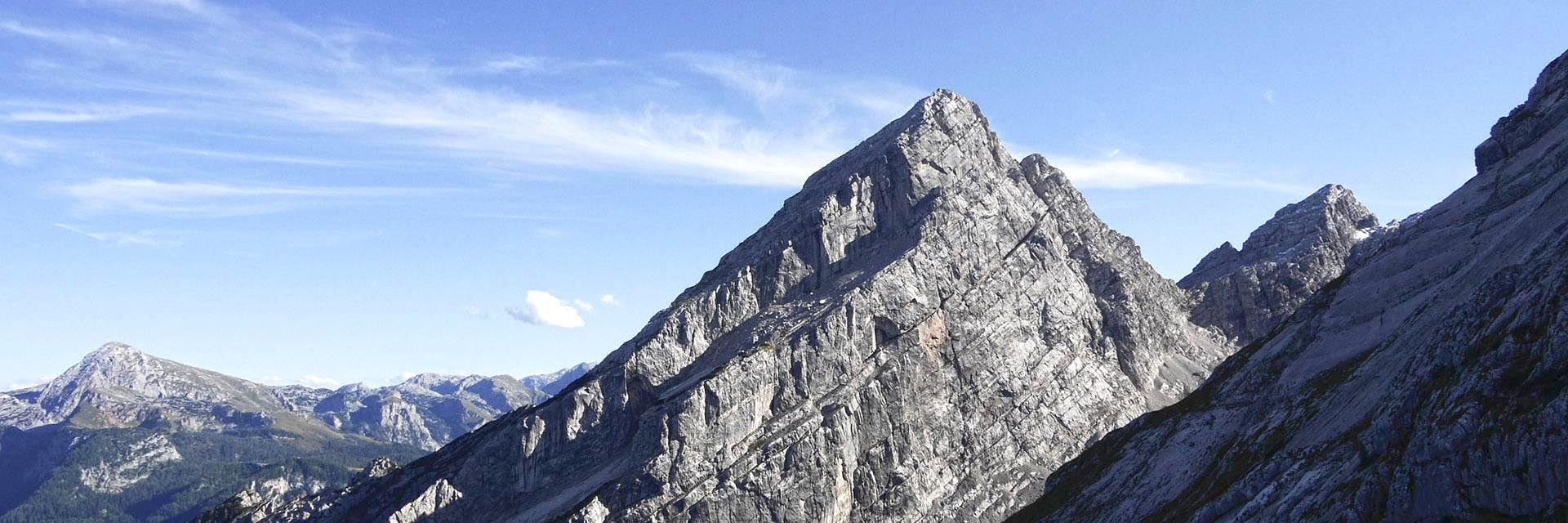 Einzigartige Bergwelt